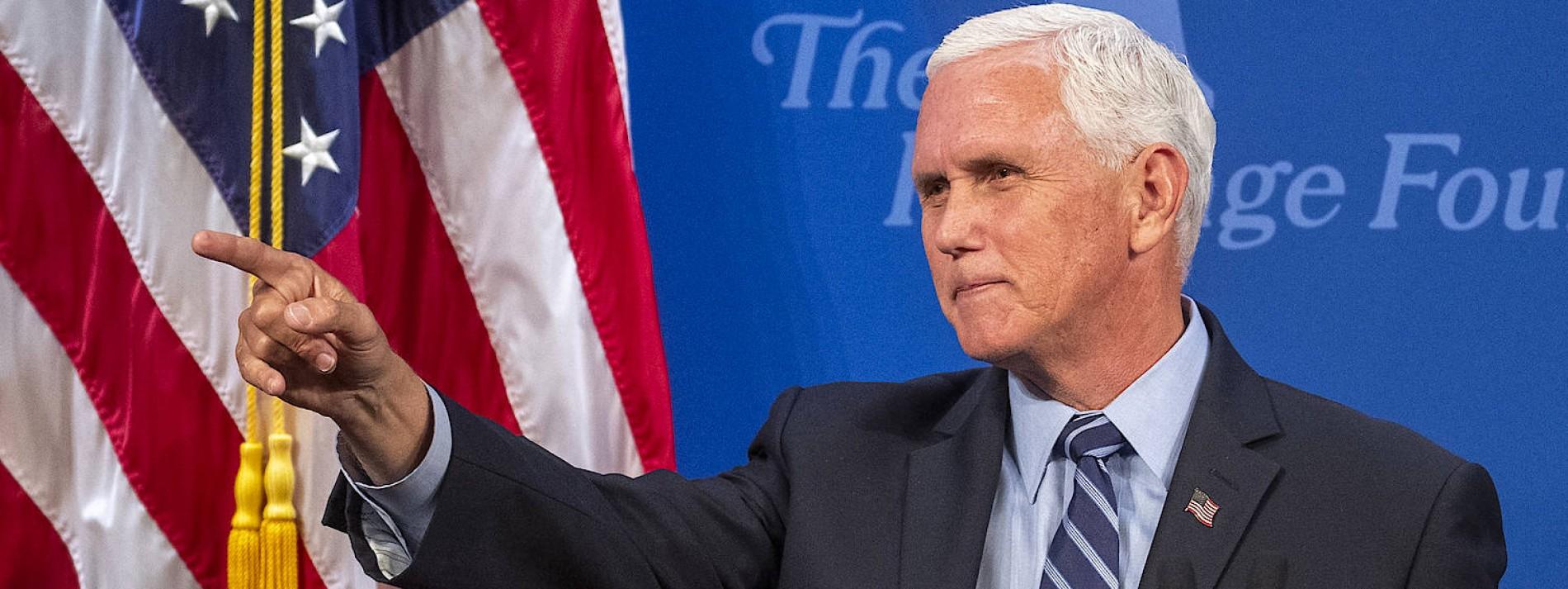 Will Mike Pence Präsident werden?