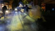 Tränengaseinsatz in Minneapolis