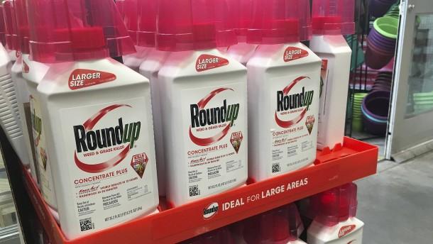 Glyphosat-Verbote treten demnächst in Kraft