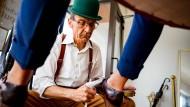 Saubermann: Thomas Ganick bei der Arbeit im Kundengespräch