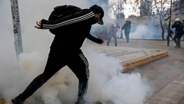 Gewaltsame Proteste in Chile