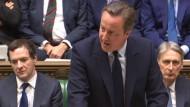 Premierminister Cameron gegen Neuwahlen