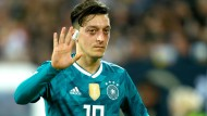 Einst Sprachrohr des DFB in Sachen Integration, heute nur noch eisernes Schweigen: Mesut Özil
