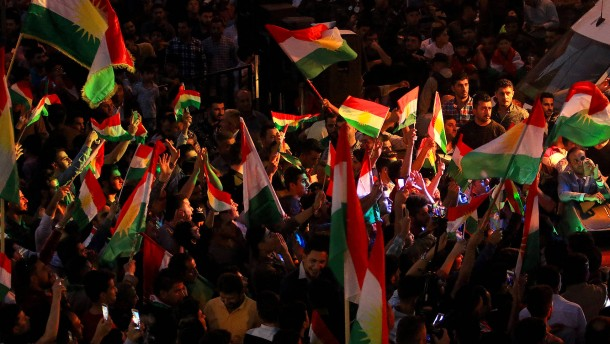 Kurden stimmen für Unabhängigkeit vom Irak