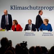 Vorstellung des Klimaschutzprogrammes des Bundesregierung am Freitag in Berlin