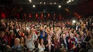 Feierlichkeiten beim Wahlsieger SPD