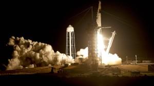 SpaceX-Raumfrachter erfolgreich gestartet