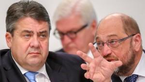 Gabriel besteht auf SPD-Kandidaten für Außenministerposten