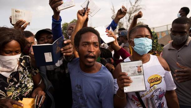 Übergangs-Präsident soll politisches Chaos in Haiti beenden