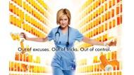 """Von Schmerzmitteln und Gender-Rollen: Edie Falco spielt """"Nurse Jackie"""" in der gleichnamigen TV-Serie"""
