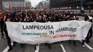 Streit über Lampedusa-Flüchtlinge