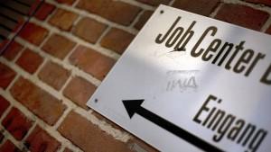 Die Arbeitslosenzahl in Deutschland steigt
