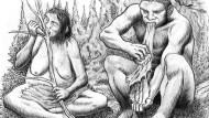 Die Neandertaler lebten die klassische Rollenverteilung