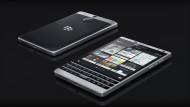 Das Blackberry ist hochwertig verarbeitet - der Edelstahlrahmen mit den abgerundeten Kanten überzeugt.