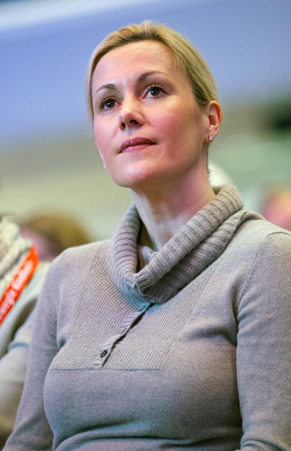 Braucht gute Nerven: Bettina Wulff