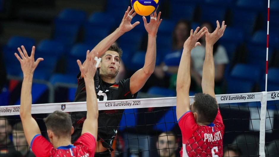 Moritz Reichert in Aktion: Deutschland wird Zweiter in seiner Vorrundegruppe