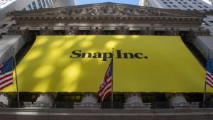 Snapchat macht Trumps Beiträge weniger sichtbar