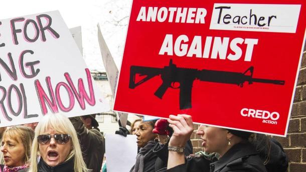 Die Zahl der Waffengegner in Amerika wächst