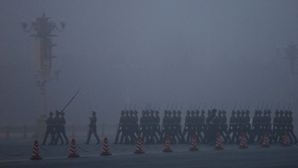 Beijing Air Pollution Reaches Dangerous Level