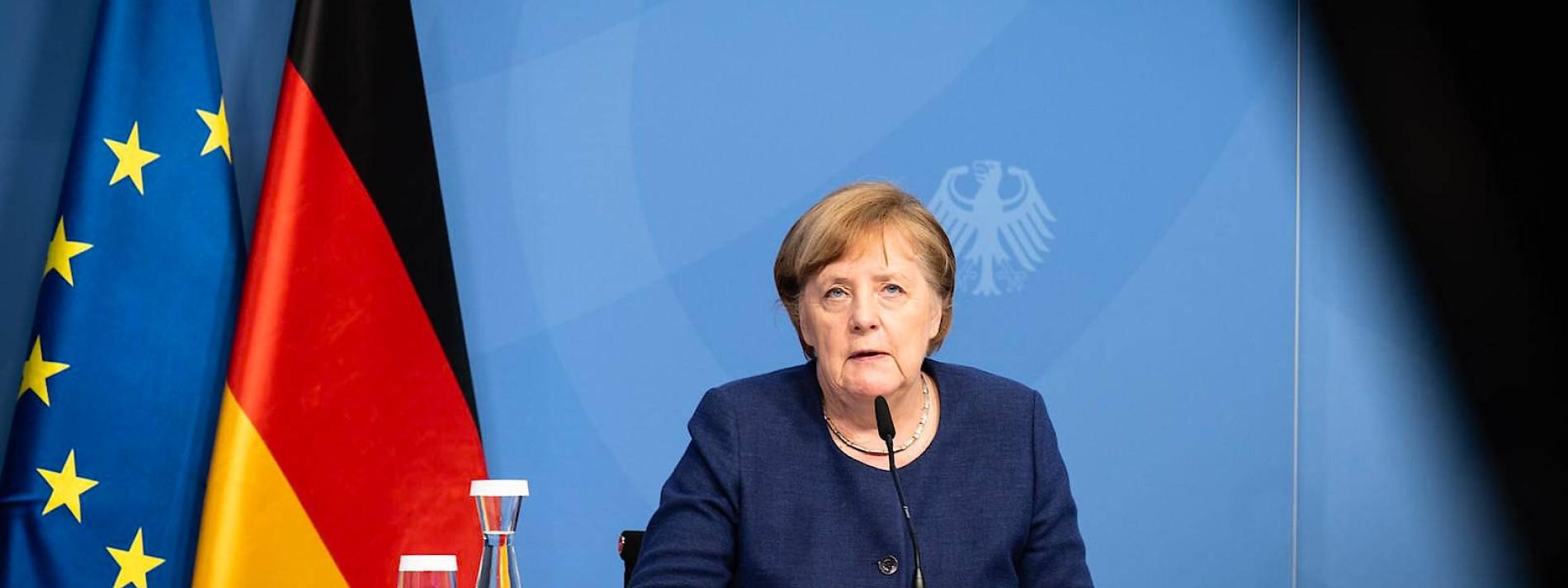 Merkel spricht sich für behutsame Lockerungen aus