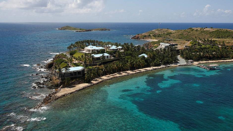 Anwesen von Eppstein in der Karibik.