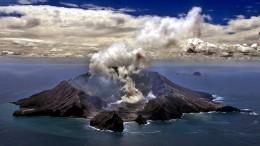 Verletzte bei Vulkanausbruch in Neuseeland