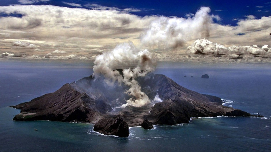 White Island ist Neuseelands aktivste Vulkaninsel.