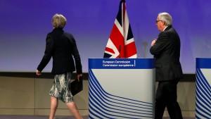 Brexit-Verhandlungen abermals abgebrochen