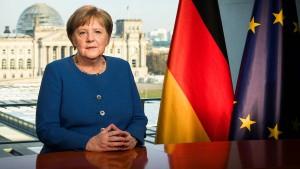Warum Merkel zu den Deutschen sprach