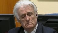 Ex-Serbenführer Karadžić zu 40 Jahren Haft verurteilt