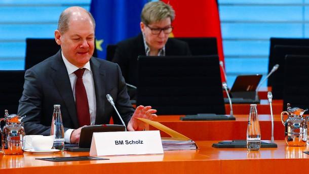Kabinett beschließt Hilfspakete über Hunderte Milliarden Euro