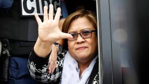 Die Frau, die Duterte die Stirn bietet