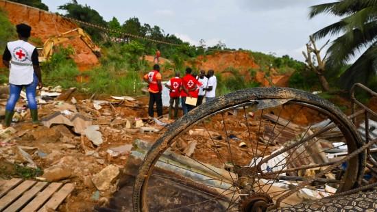 Tote durch Schlammlawine in Elfenbeinküste