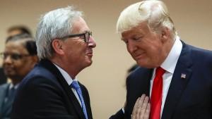 Trumps Lust, einen Eklat zu zelebrieren