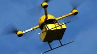 Paket-Drohne der Deutschen Post: Ersetzt sie bald den Paketzusteller?