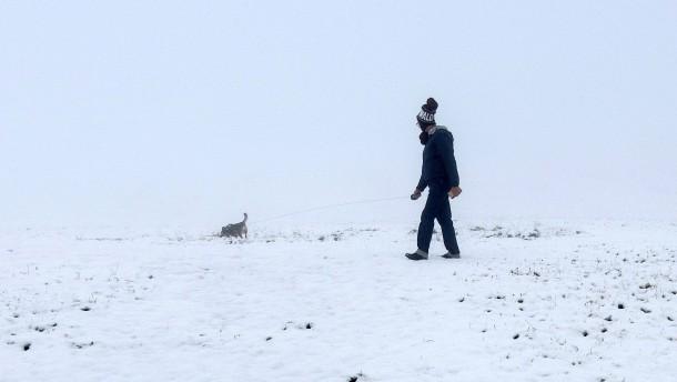 Im Schwarzwald schneit es schon