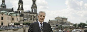 Sachsens Ministerpräsident Stanislaw Tillich in Dresden