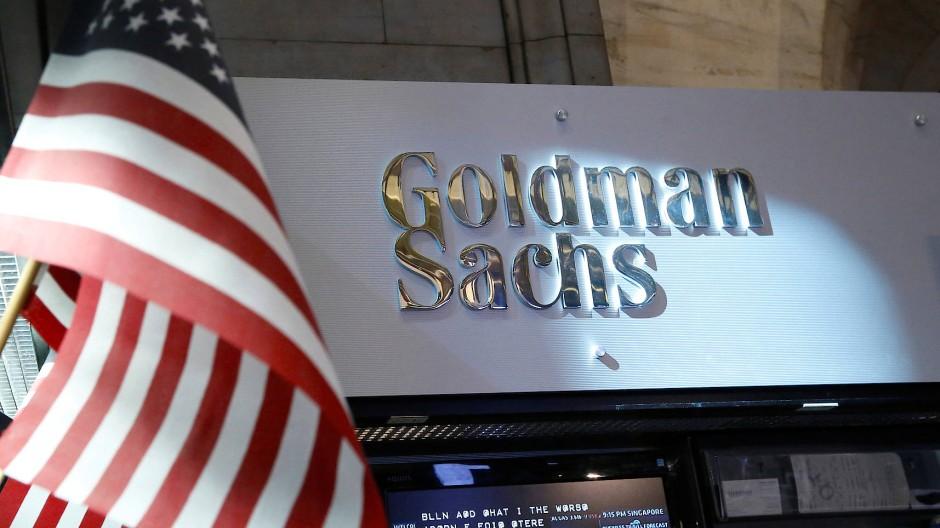 Goldman Sachs an der New Yorker Börse