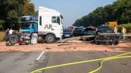 In den Gegenverkehr geraten: Immer wieder passieren schwere Unfälle im Bereich von Baustellen.