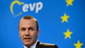 Weber fordert Zustimmung zum Austrittsvertrag