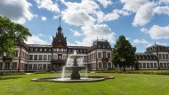 Imposant: das barocke Hanauer Schloss Philippsruhe