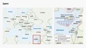 Infografik / Karte / Gasförderung / Zypern