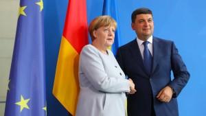 Ukraine will in zehn Jahren in der EU sein