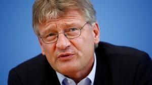 Paktiert Jörg Meuthen mit den Rechtsradikalen?