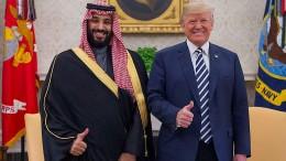 Trump geht noch nicht auf Distanz zum Kronprinzen
