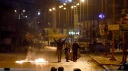 Polizei in Tunesien nimmt Hunderte Demonstranten fest