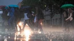 Zwischenzeitlicher Ausnahmezustand in Berlin
