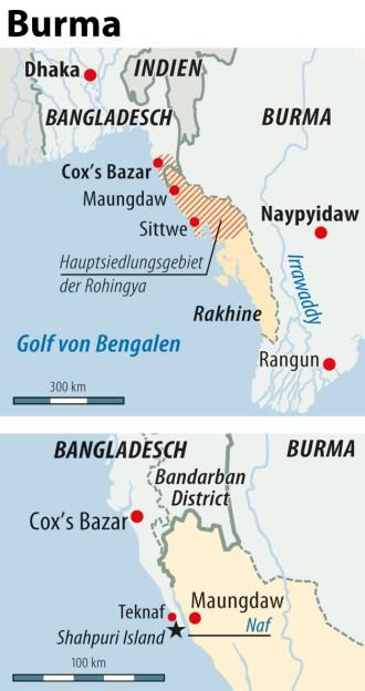 Burma-Serie: Vertreibung der Rohingyas - Teil 2
