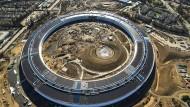 Wie das Steuerteil eines iPod: Apple Headquarters in Cupertino