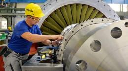 Überraschend weniger Aufträge für deutsche Industrie